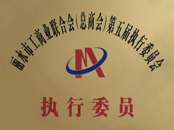 丽水市工商联合会(总商会)第五届执行委员会执行委员